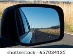 view of a country road in... | Shutterstock . vector #657034135