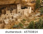 Cliff Palace  Mesa Verde In Th...