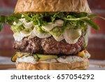 Burger  Sandwich  Meat  Filler  ...