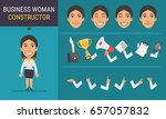 constructor character business...   Shutterstock .eps vector #657057832