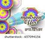 illustration sale banner sale... | Shutterstock .eps vector #657094156