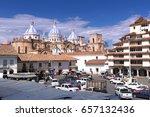 cuenca  ecuador   february 13 ...   Shutterstock . vector #657132436