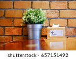 Wooden Shelf Decorated With...