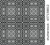 engraving seamless pattern. the ... | Shutterstock .eps vector #657158812