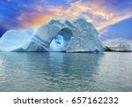 argentina  icebergs of...   Shutterstock . vector #657162232