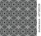 engraving seamless pattern. the ... | Shutterstock .eps vector #657182128