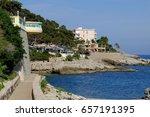cap d'ail  france | Shutterstock . vector #657191395