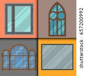 different types house windows...