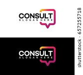 modern gradient consulting... | Shutterstock .eps vector #657255718