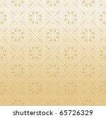seamless damask in gold | Shutterstock .eps vector #65726329