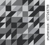 geometric repeating vector... | Shutterstock .eps vector #657263758