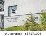 garfield high school in san...   Shutterstock . vector #657271006