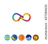 eternal friendship | Shutterstock .eps vector #657284632