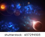 star galaxy | Shutterstock . vector #657294505