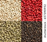 Four Variations Of Peppercorns...