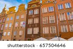 gdansk is a polish city on the... | Shutterstock . vector #657504646