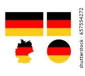 vector illustration of germany... | Shutterstock .eps vector #657554272
