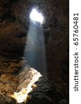 The Light Through Hole In The...