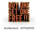 typical theater style 3d... | Shutterstock . vector #657620935