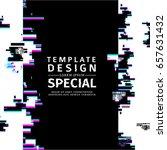 template design  vertical...   Shutterstock .eps vector #657631432