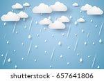 vector illustration rain...   Shutterstock .eps vector #657641806