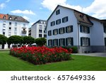 Stock photo amazing architecture of zurich city zurich switzerland 657649336
