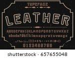font.alphabet.vector.typeface...   Shutterstock .eps vector #657655048