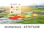 smart agriculture   farm  ... | Shutterstock . vector #657671638