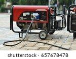 Electric Generator On City...