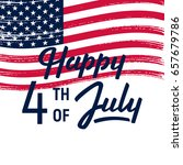4 th of july background....   Shutterstock .eps vector #657679786