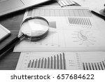 business accessories  notebook  ... | Shutterstock . vector #657684622