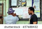 bonny island  nigeria   circa... | Shutterstock . vector #657688432