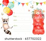 ready made beautiful invitation ... | Shutterstock . vector #657702322