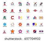 unusual icons set   isolated on ...   Shutterstock .eps vector #657704932