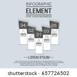 element for infographic ...   Shutterstock .eps vector #657726502