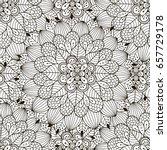 floral ornament seamless...   Shutterstock .eps vector #657729178
