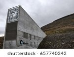 global seed vault svalbard    Shutterstock . vector #657740242