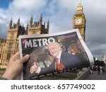 london  uk   circa june 2017 ... | Shutterstock . vector #657749002