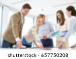 business blurred concept | Shutterstock . vector #657750208