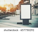 vertical mock up of city poster ... | Shutterstock . vector #657750292