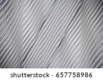 seamless wavy white texture... | Shutterstock . vector #657758986