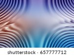 colorful ripple background | Shutterstock . vector #657777712