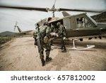 Group Of Israeli Elite Unit...