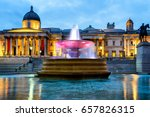 national gallery and trafalgar...   Shutterstock . vector #657826315