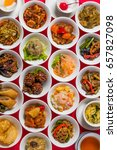 variation of chinese cuisine | Shutterstock . vector #657827098