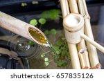 japanese tsukubai | Shutterstock . vector #657835126