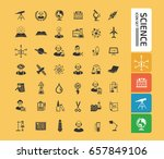 science icon set clean vector | Shutterstock .eps vector #657849106