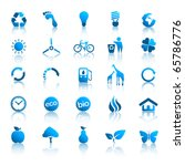 environment icons set 2 | Shutterstock .eps vector #65786776