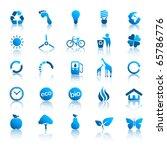 environment icons set 2 | Shutterstock .eps vector #65786776