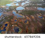 vasyugan marshes are one of the ... | Shutterstock . vector #657869206